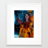 kill bill Framed Art Prints featuring Kill Bill by JackCat