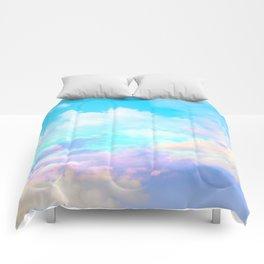 beautiful sky Comforters