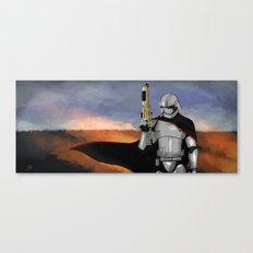 Captain Phasma Canvas Print