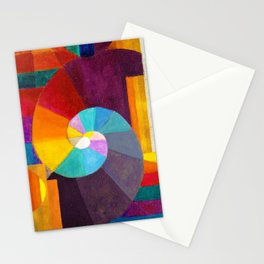 1916 Classical Masterpiece 'In The Beginning' by Paul Klee Stationery Cards