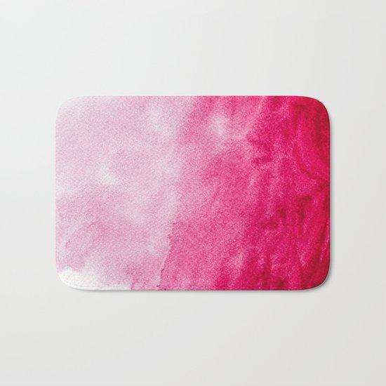 Hopeless, Romantic And Pink #decor #buyart #society6 #art #prints Bath Mat