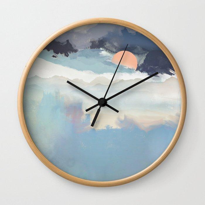Mountain Dream Wall Clock