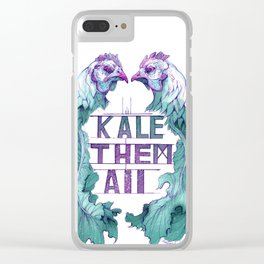 Kale Them All Clear iPhone Case