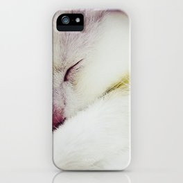 Sleeping Angel 2 iPhone Case