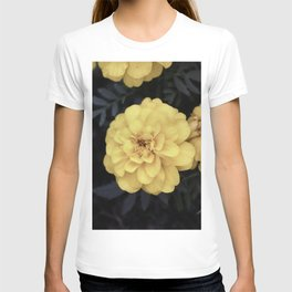 Eerie Yellow Flowers Vintage T-shirt