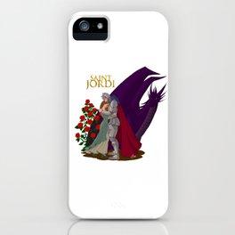 The leyend of Saint Jordi iPhone Case