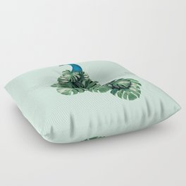 MONSTERA BIRD Floor Pillow