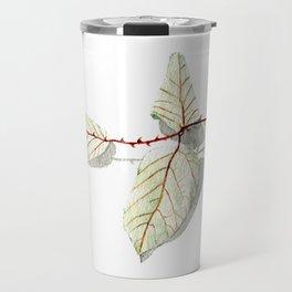 Autumn leaf of berrie Travel Mug