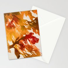 Morning Blossoms 2 - Red Variation Stationery Cards