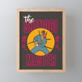 The Shinobi Master Framed Mini Art Print