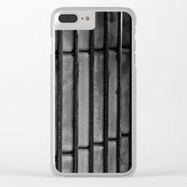 Columns II Clear iPhone Case
