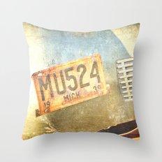 Michigan 1939 Throw Pillow