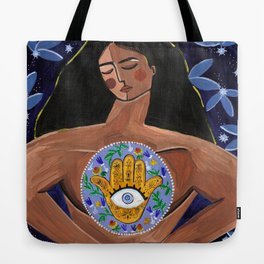 She who found magic within Tote Bag