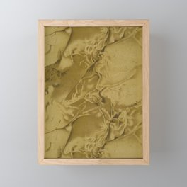 Marble Endpaper Framed Mini Art Print