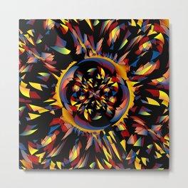 Spiky abstract Metal Print