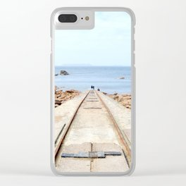 The stranger away Clear iPhone Case