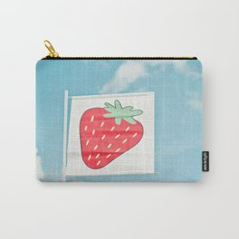 Strawberry Sky Carry-All Pouch