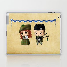 Scottish Chibis Laptop & iPad Skin