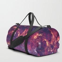 Star Field in Deep Space Duffle Bag