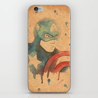 soldier iPhone & iPod Skins featuring Soldier by Sarah J