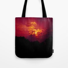 """""""With each sunrise, we start anew"""" Tote Bag"""