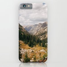 The View from Above 10,000 ft - Wyoming Wilderness Slim Case iPhone 6