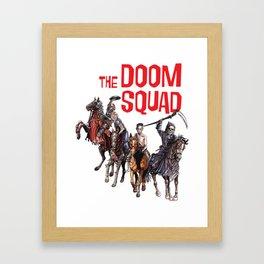 Doom Squad Framed Art Print