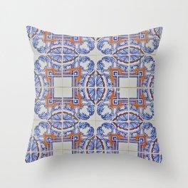 Azulejo Throw Pillow