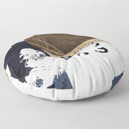 Divided Stories Floor Pillow