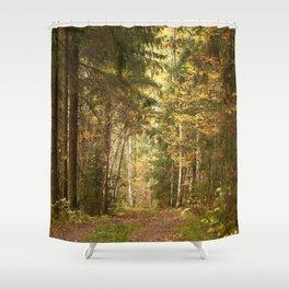 Wanderlust In The Forest #decor #society6 #buyart Shower Curtain