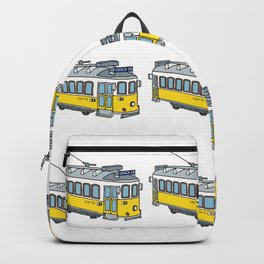 Lisbon Tram Backpack