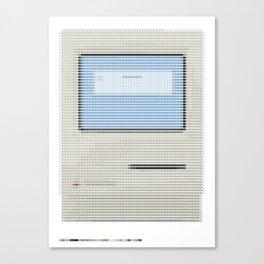 Pantone as pixel Mac Canvas Print