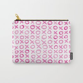 Xoxo valentine's day - pink Carry-All Pouch