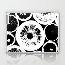 Citrus Black & White Laptop & iPad Skin