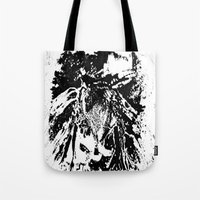 moth Tote Bags featuring Moth by Shane R. Murphy