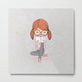 My Diary Metal Print