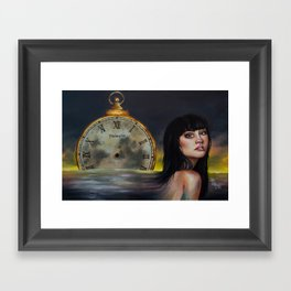 How About Next Week? Framed Art Print