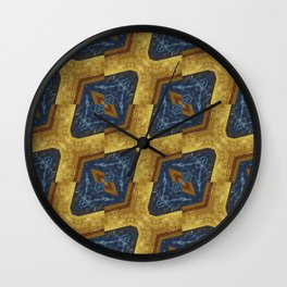 Marble & Gold Wall Clock