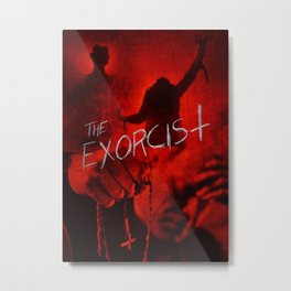 The Exorcist - Poster Four Metal Print