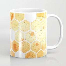 Golden Honeycomb Coffee Mug