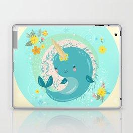 Pretty Princess Narwhal Laptop & iPad Skin