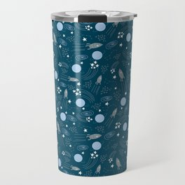 Space blu Travel Mug