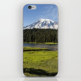 Mt Rainier from Reflection Lake, No. 1 iPhone Skin