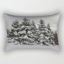 Winterscape Rectangular Pillow