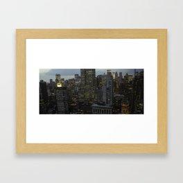 midtown1 Framed Art Print