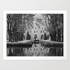 Royaumont Abbey Art Print