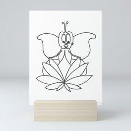 Nevis Lotus Mini Art Print