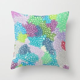 Explosions of Love Throw Pillow