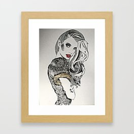 To try and make amends Framed Art Print