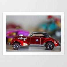 Vintage cars make me smile  Art Print